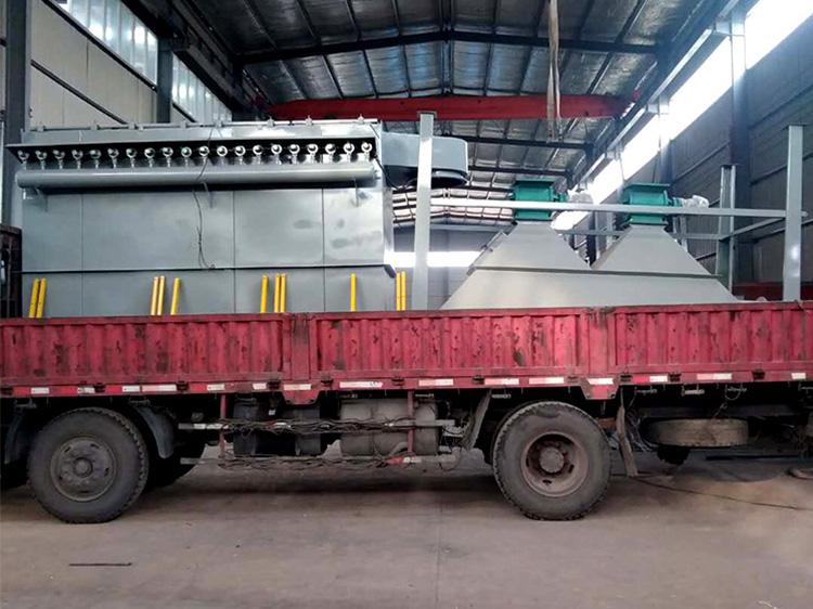工业粉尘处理设备装车发货