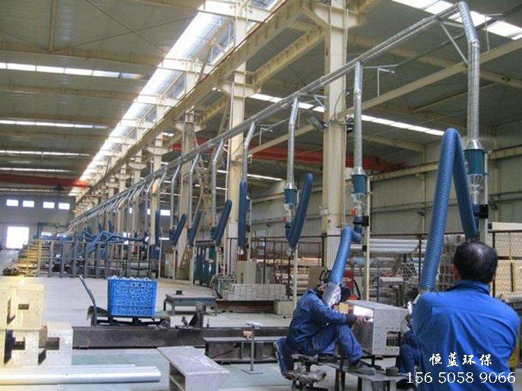 焊接粉尘产生的粉尘收集系统